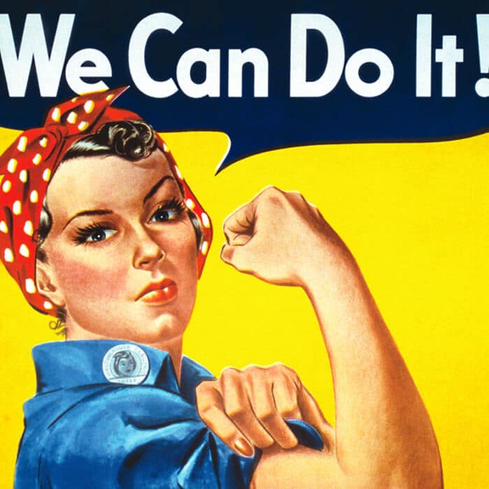 creation site web we can do it poster propagande pub americaine
