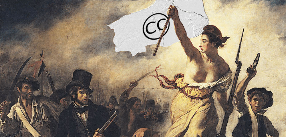 la liberté guidant le peuple creative commons exemple