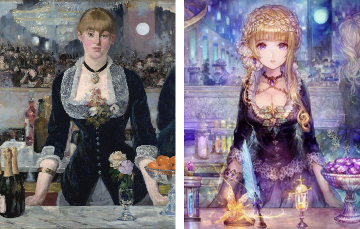 manet-bar-aux-folies-bergere-version-manga